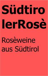 Südtiroler rosè